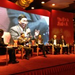 C-100 members discuss Chinese outbound investment at the September 25 conference.