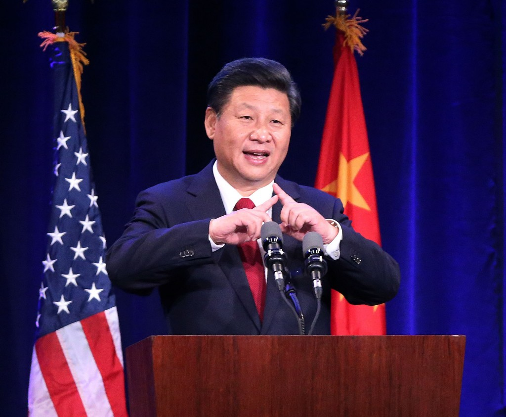 U.S.-SEATTLE-CHINA-XI JINPING-WELCOME BANQUET-SPEECH (CN)
