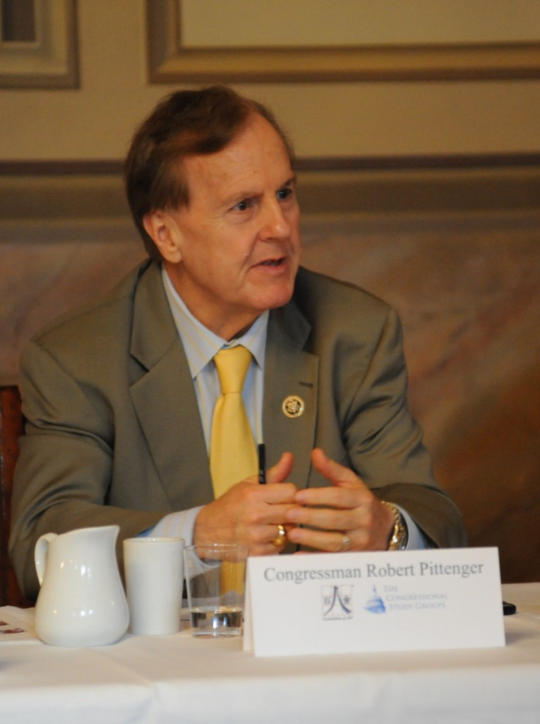 Congressman Robert Pittenger explains Congressional concerns about China's human rights situation