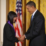 C100 Member Maya Lin Receives Presidential Medal of Freedom | Photo courtesy of NBC News