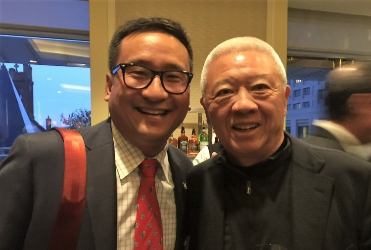 Frank H. Wu and Andrew Cherng