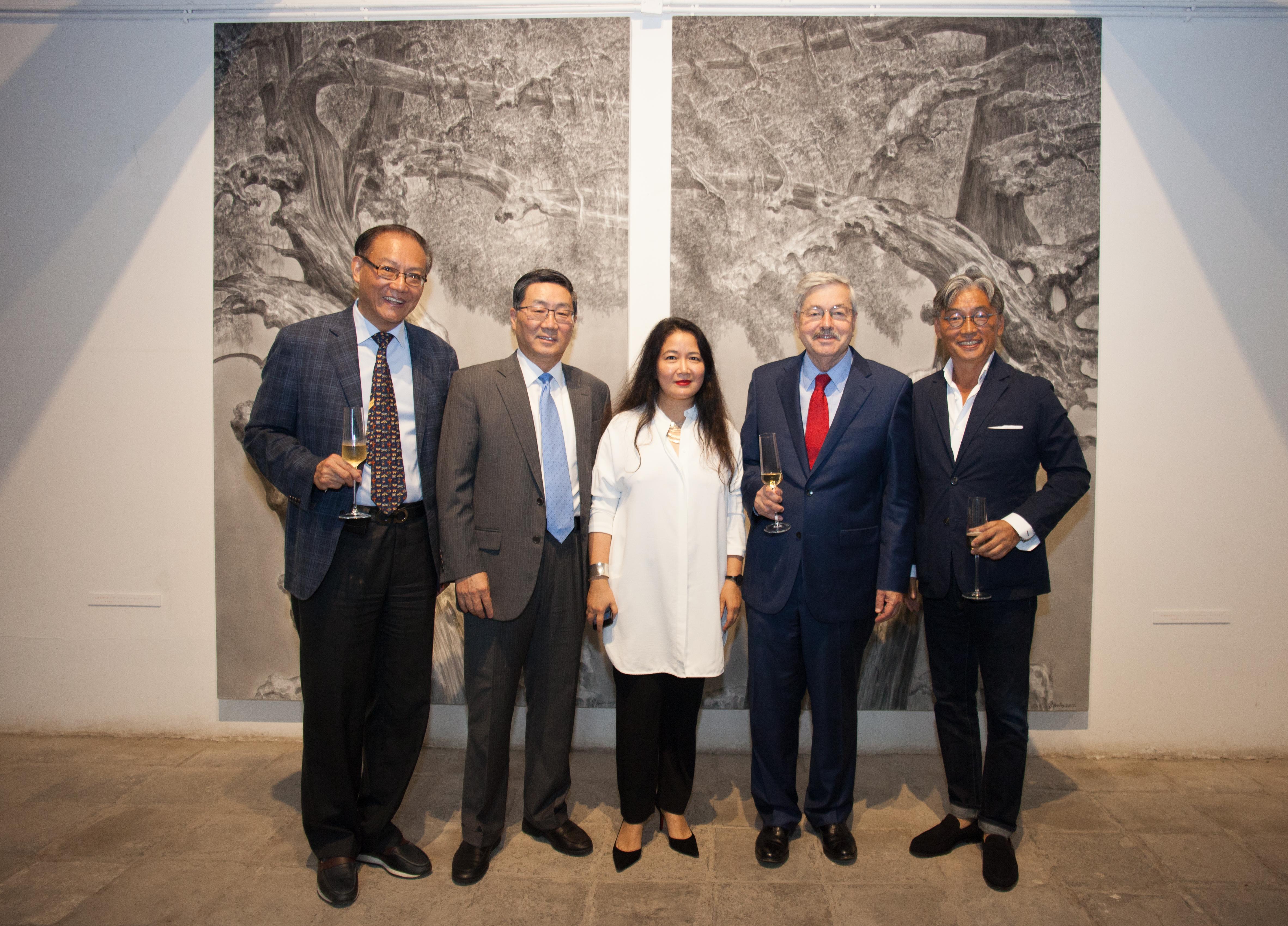 China Co-Chairs, members and Ambassdor Branstad