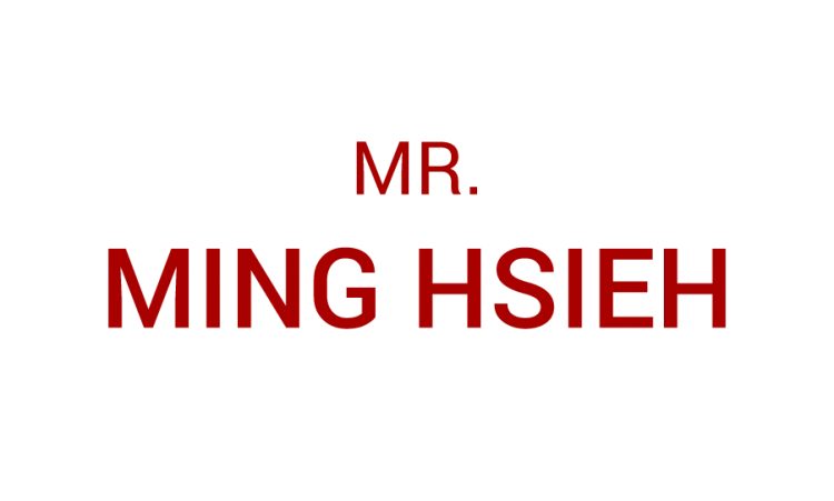 MR. Ming Hsieh