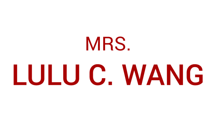 MRS. lulu C Wang