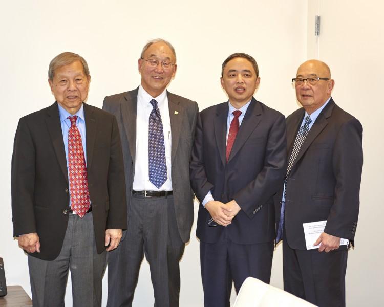 Yukon Huang, George Koo, Pin Ni, Dennis Wu_1.29.18 Commonwealth Club Speaker Series
